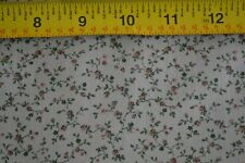 By 1/2 Yd, Vintage Calico on Green Lighter-Weight Cotton, Peter Pan, D831