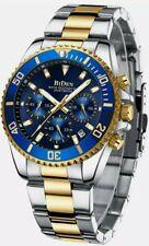 Mens Watches Waterproof Analogue Quartz Watch Men Luminous Stainless Steel Wrist