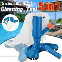 Portable Swimming Pool&Spa Pond Fountain Vacuum Brush Cleaner Cleaning Tool_AU