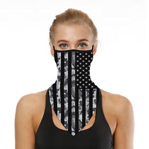 Black Unisex Balaclava Biker Cycling Ski Neck Scarf Snood Face Mask Bandana UK