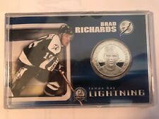 Brad Richards Tampa Bay Lightning Hockey NHL Stanley Cup 2004 Silver Coin New