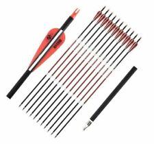 Musen Carbon Fiber Arrow SP500 Compound bow Recurve Bow Hunting 12pcs