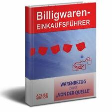 ebook BILLIGWAREN-EINKAUFSFÜHRER Buch Großhandel Adressen B2B Reseller Import