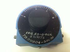 ARRA 0 pour 30dB 5.9 - 6.4 ghz rotary variable rf atténuateur ae1y7