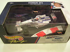 HOT WHEELS 1:43 STEWART SF3 JOHNNY HERBERT