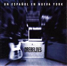 CD SINGLE los REBELDES un español en nueva york SPANISH 1995  ROCKABILLY