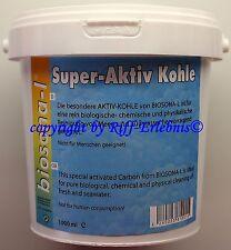 Aqua Light Super Aktiv Kohle 1000ml  Aktivkohle Süß- und  Meerwasser 10,70€/L