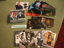 James Bond Heroes & Villains Near Complete Mini-Master Set - No Binder