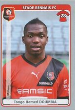 N°389 TONGO HAMED DOUMBIA # STADE RENNAIS.FC STICKER PANINI FOOT 2012