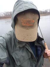 Irideus fish print fishing  hat steelhead hat trout sun cap salmon fly fishing