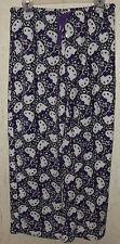 WOMENS / JUNIORS Hello Kitty PLUSH PAJAMA BOTTOMS / LOUNGE PANTS   SIZE XL