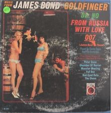 MUSIC FROM JAMES BOND GOLDFINGER DR NO FROM RUSSIA - LP