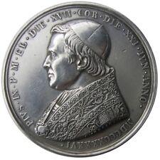 MEDAGLIA - Pio IX anno I 1846 - annuale elezione al pontificato AG gr. 33,37 SPL