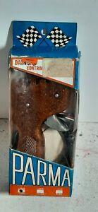Vintage Parma 1 OHM Slot Car Controller #254A New Old Stock Gold Handle