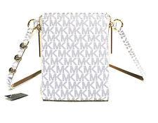 NWT WOMEN'S MICHAEL KORS MK LOGO FANNY PACK NAVY/WHITE STY#552500 SZ:S,L,XL $98