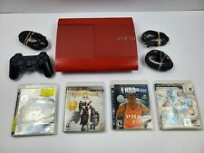 Sony Playstation 3 PS3 Super Slim 500GB Console God Of War Edition 4 Games
