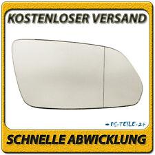 Spiegelglas für VW POLO 9N 2005-2009 rechts Beifahrerseite asphärisch