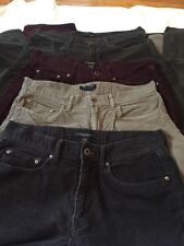 Banana Republic 32x34 Straight Fit/vintage Straight Corduroy 2 Colors One Pair