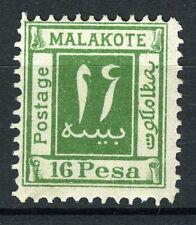East Africa, Malakote 16 Pesa green, not a stamp but a cinderella,