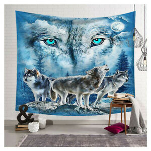 New Soft Elephant Throw Blanket Polyester 3D digital printing polyester tapestry