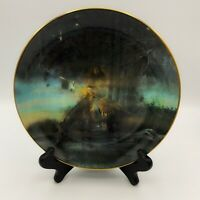 "The Bradford Exchange Native Visions  ""Man Who Sees Far"" Collectible Plate 8"""