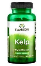 Swanson Kelp Iodine Source 250 Tablets