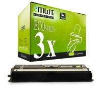 3x MWT Eco Cartucho Negro Para Epson Aculaser CX-16-NF CX-16-DNF CX-16-DTNF