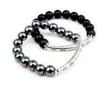 Hematite Beaded Bracelets for Men