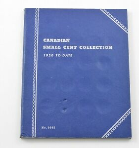 1920-1963 - Canada Small Cents - Collection Set Lot Album *441