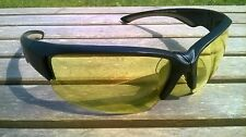 Maxx Safety Glasses Series black yellow lens ANSI Z87+ CERTIFIED SS3 motorcycle