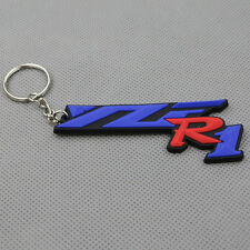 Motorcycle Rubber Keyring Keychain Key Chain Key Ring For YAMAHA YZF R1 Gift