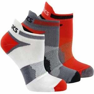 ASICS Quick Lyte Cushion Single Tab 3-Pack Mens Running Socks   Ankle,Socks