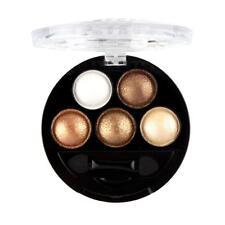 UBUB Professional Makeup Eyeshadow Metallic Shimmer Eye Shadow Palette Brown Hot
