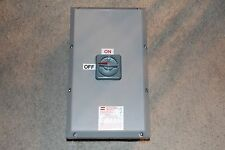 Crouse Hinds N2RS603 Enclosed Disconnect Switch Water Tight 600V 3Ph 60A New
