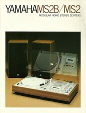 Yamaha Katalog Prospekt  MS2 / MS2B