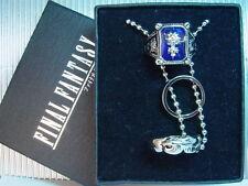 Final Fantasy VIII 8 FF8 Ring Necklace&Amber Ring