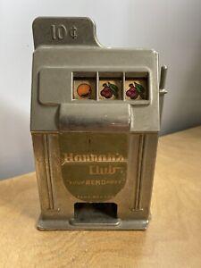 Vintage Slot Machine Bank. Bigler Mfg. 1950's