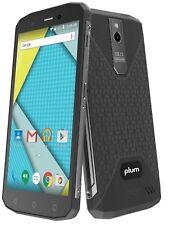 """Plum Gator 5 - Rugged Unlocked GSM Phone 5.2"""" Display Water Shock Proof IP68"""
