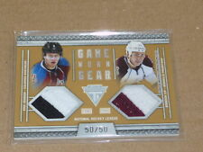 2011/12 Panini Titanium ERIK JOHNSON/BRANDON VIP JERSEY PATCH GOLD 50/50 E316