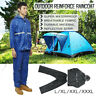 Raincoat PVC Waterproof Windproof Jacket Trousers Pants Rain Suit fisherman Work