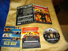 The Expendables 2 (DVD, 2012, Canadian) region one cover damage great dvd cond