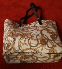 Primark Ladies Chainlinks Print XLarge Shopper Shoulder bag. Work School. BNWT