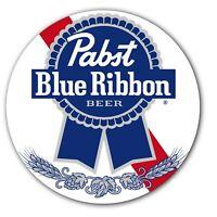 "Pabst Blue Ribbon #2 Beer Slipmat Turntable 12"" LP Record Player DJ Audiophile"