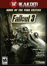 Fallout 3 Game of the Year Edition Steam Digital NO DISC/BOX **Fast Delivery!**