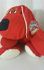"Clifford The Big Red Dog,""The Squeezables"" 17x11 , Squishy Filled FRIEND! NEW"