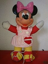 Vintage Ancienne Figurine Brabo//Bully Flexible MICKEY 13 cm PLUTO Long 14 cm