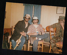 Vintage Photograph Three Men in Crazy Outfits - Beards - Hats - Sunglasses