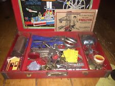Vintage Erector Set 8-1/2 All Electric Ferris Wheel AC Gilbert With Inserts