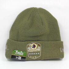 New Era Cap Men's NFL Washington Redskins Salute To Service Winter Knit Hat