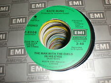 Kate Bush 45 The Man With Child In His Eyes PROMO EMI
